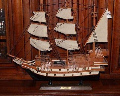 Maquette bateau en bois san mateo